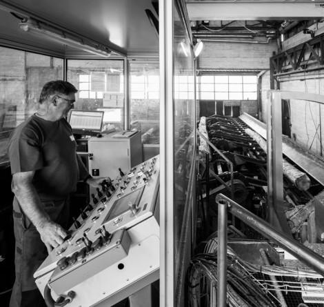 Les métiers de l'usine Cibem